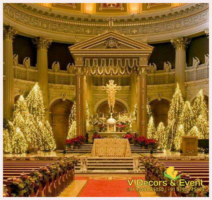 Church Decorations Pondicherry , Church Decorations Tamilnadu